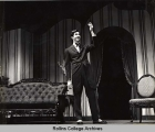 Anthony Perkins on the Annie Russell Theatre Stage