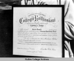 Annie Russell's Honorary Degree