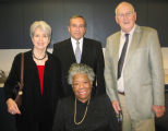 Rollins Presidents with Maya Angelou