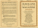 Rollins College Animated Magazine 1929