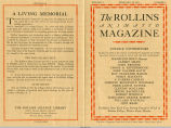 Rollins College Animated Magazine 1931