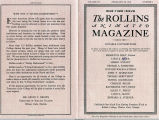 Rollins College Animated Magazine 1942
