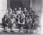 Photograph of the Chapel Staff from the 1951 Tomokan
