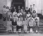 Photograph of the Community Service Club from the 1951 Tomokan