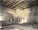Interior of the Annie Russell Theatre During Construction