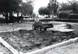 Construction for the Virginia S. Nelson Rose Garden
