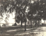 Chase Hall as seen from Pinehurst, 1920