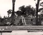 Construction of the Mills Memorial Library