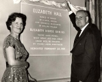 Elizabeth Hall Dedication
