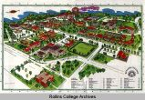 Campus Map, (ca.) 1975