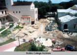 Campus Center Construction in 1998