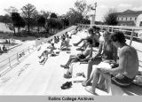 Alfond Pool Steps in 1970s