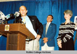 Alfond Gives Press Conference in 2001