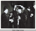 Holt Congratulated Truman after he Received an Honorary Degree