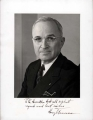 Autographed Portrait of Harry Truman