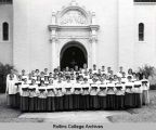 Chapel Choir of 1960 - 1961