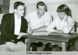 Senior Class Officers of 1955