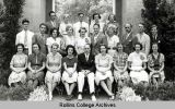 Conservatory of Music Faculty and Students of 1937 - 1938