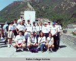 Rollins Group on the Great Wall of China in 2001