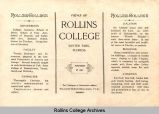 Views of Rollins College, (ca.) 1905