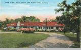 Spring Postcard of Irving Bacheller Home