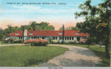 Spring Postcard of Bacheller Home