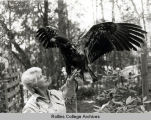 """Eagle Lady"" Doris Mager"