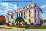 Orange County Courthouse Postcard