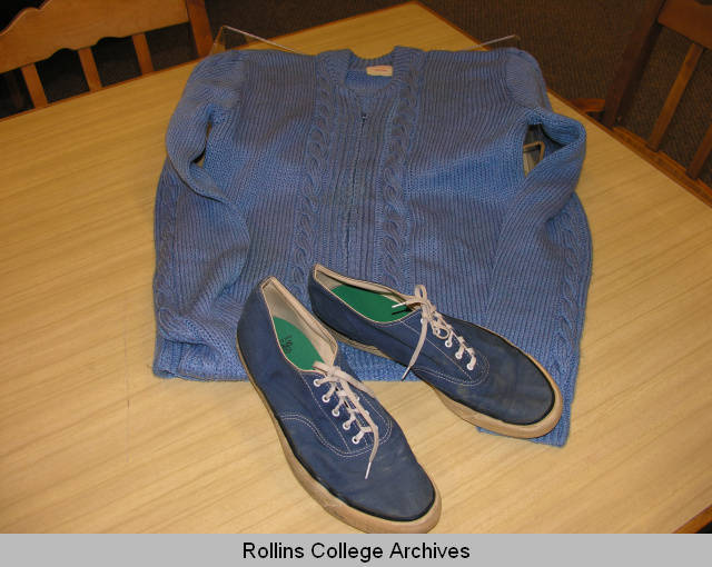 Mister Fred Rogers' Sweater and Sneakers